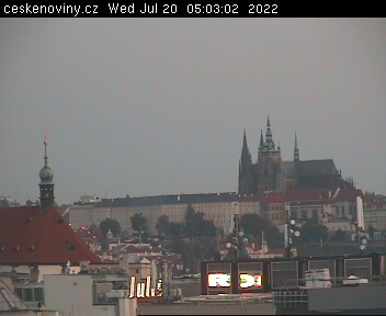 Prague Castle webcam