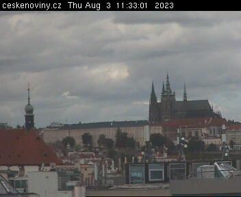 Прага – Пражский Град, Пражский Кремль, ПРАЖСКИЙ ГРАЖ, живой вид на Прагу.