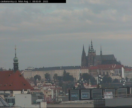 Webcam Castillo de Praga